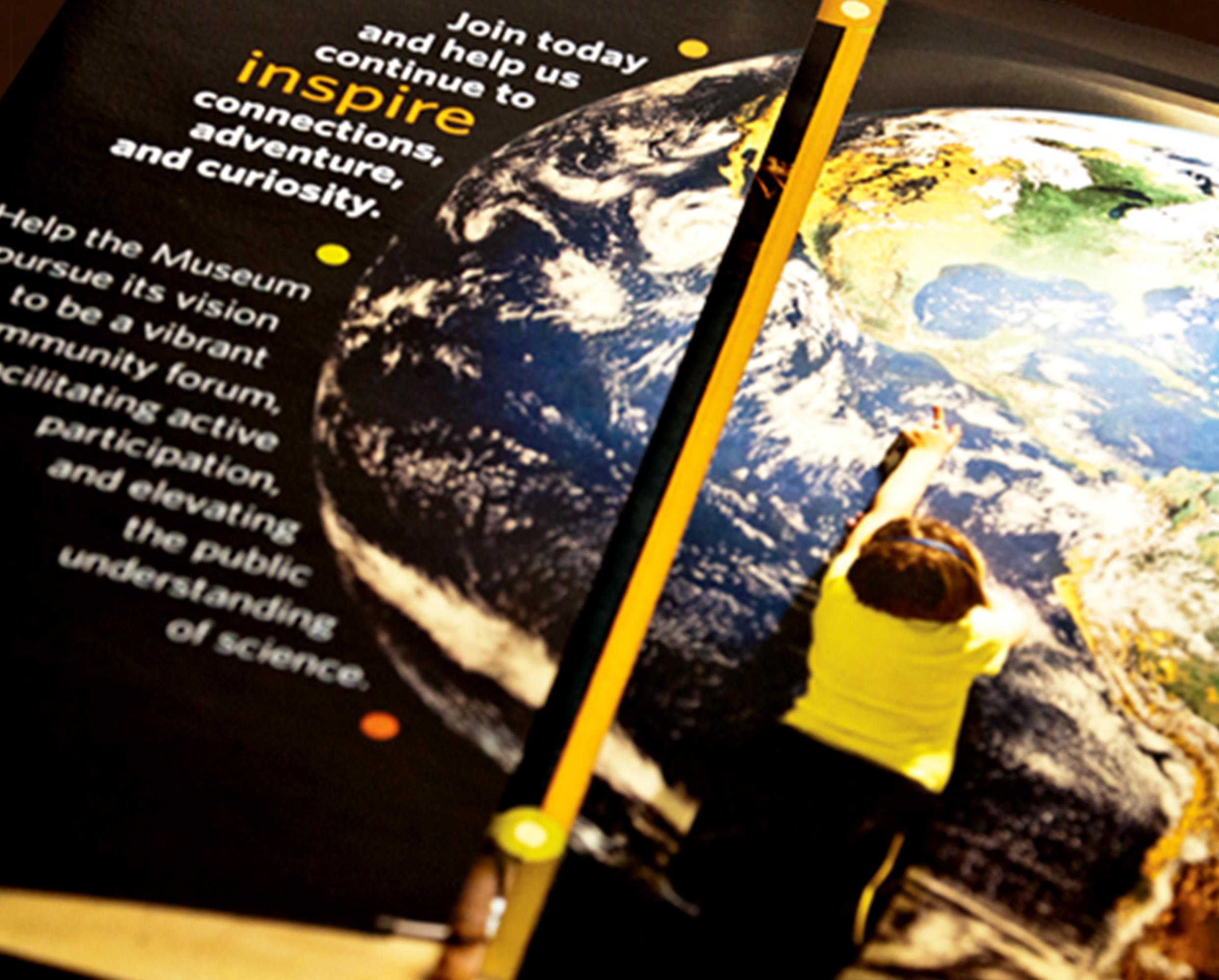 Earth brochures